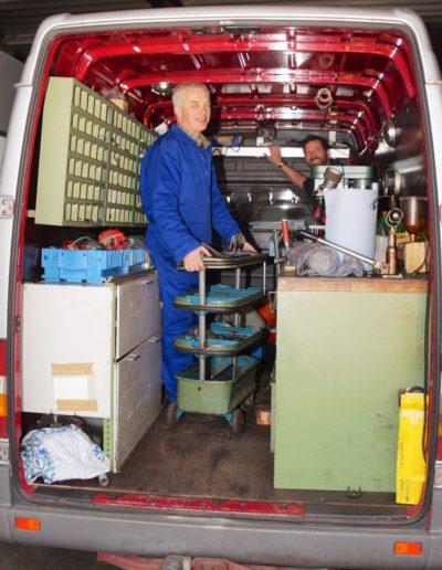Werkstatt Transporter
